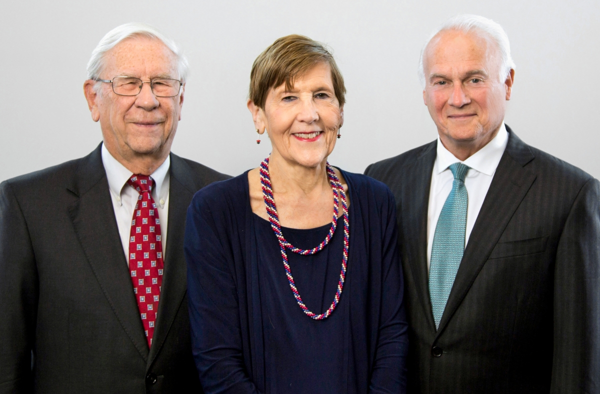 Richard Baum, Judy Smith and Timothy Clemens; Founding Partners